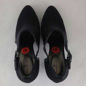 Bandolino Shoes - Bandolino Wardell Womens Bootie Black 10M
